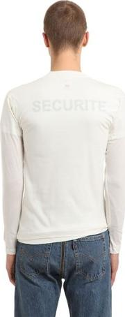 Hanes Securite Jersey Doubled T Shirt