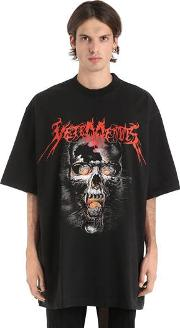 Heavy Metal Oversized Jersey T Shirt