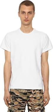 Inside Out Cotton Jersey T Shirt