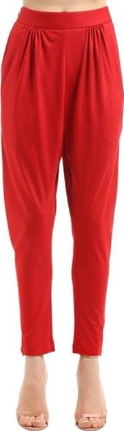 Red Satin Trousers