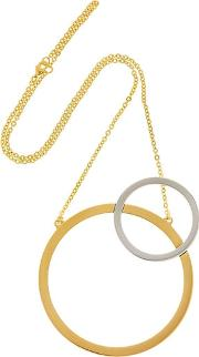 Sole Two Toned Necklace
