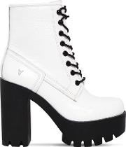 120mm Eline Patent Leather Boots
