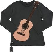Guitar Jersey T Shirt W Acoustic Device