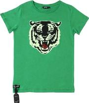 Tiger Jersey T Shirt W Acoustic Device