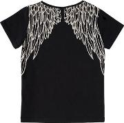Use Your Wings Print Jersey T Shirt