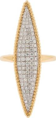 Marquise 18kt Gold & Diamond Ring