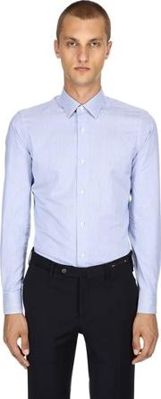Slim Fit Soft Touch Cotton Poplin Shirt