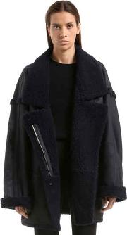 Maples Riot Shearling Coat