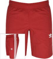 Three Stripe Swim Shorts