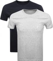 Emporio  2 Pack Crew Neck T Shirts