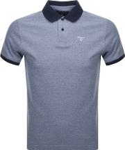 Sports Polo T Shirt Blue