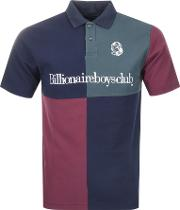 Panelled Polo T Shirt