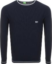 Rome Waffle Knitted Jumper
