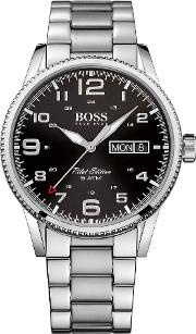 Hugo Boss Black 1513327 Pilot Vintage Watch