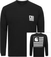 Long Sleeve State Logo T Shirt
