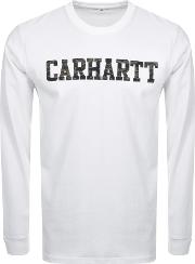 Long Sleeved College T Shirt