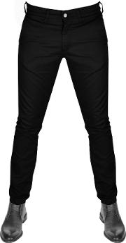 85 Chino Trousers Black