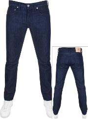 Ed55 Regular Tapered Rinsed Jeans