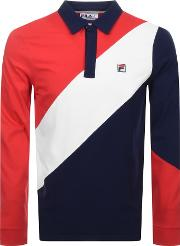 Long Sleeved Mazen Rugby Polo