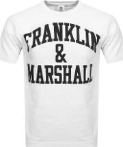 Franklin Marshall Crew Neck Logo T Shirt