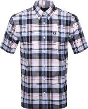 Short Sleeved Madras Check Shirt