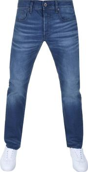 Raw 3301 Straight Jeans