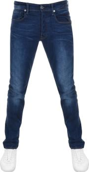 Raw 3301 Straight Tapered Jeans