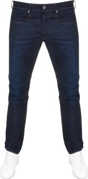 Raw 3301 Tapered Fit Jeans