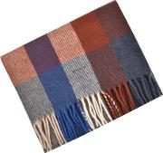 Lambswool Checked Scarf