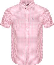 Short Sleeved Gingham Shirt