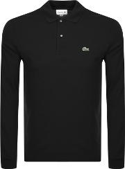 Long Sleeve Polo T Shirt