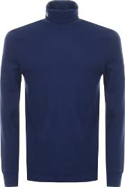 Long Sleeved Roll Neck T Shirt