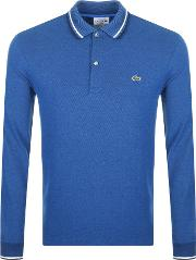 Long Sleeved Twin Tipped Polo T Shirt