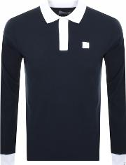 Long Sleeved Rivierre Polo T Shirt
