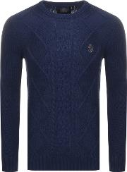 1977 Hortons Cable Knit Jumper