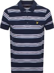 Multi Striped Polo T Shirt
