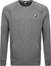 Crew Neck Optic Sweatshirt