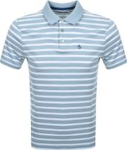Brenton Stripe Polo T Shirt