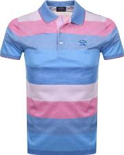 Paul And Shark Striped Polo T Shirt
