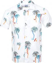 Ps By  Palm Tree Vacation Shirt