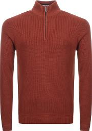 Lohas Half Zip Knitted Jumper