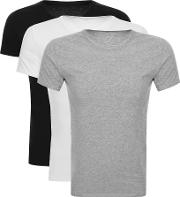 3 Pack Crew Neck T Shirts