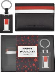 Card Holder And Keyring Gift Set