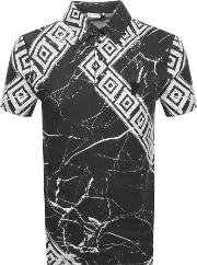 Graphic Polo T Shirt
