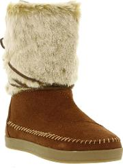 Nepal Pull On Mid Calf Boots