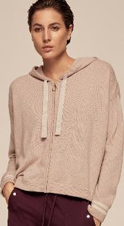 Cashmere Box Zip Hoody