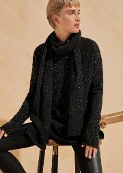 Cashmere Speckle Scarf