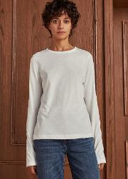 Washed Distressed Cotton Tee