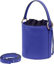 Meli Melo Santina Mini Bucket Bag Majorelle Blue