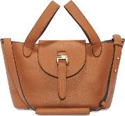 Thela Mini Cross Body Bag Tan